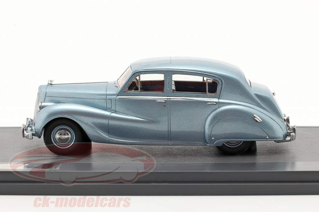 Austin A135 Princess II Baujahr 1950 blau metallic 1:43 Matrix
