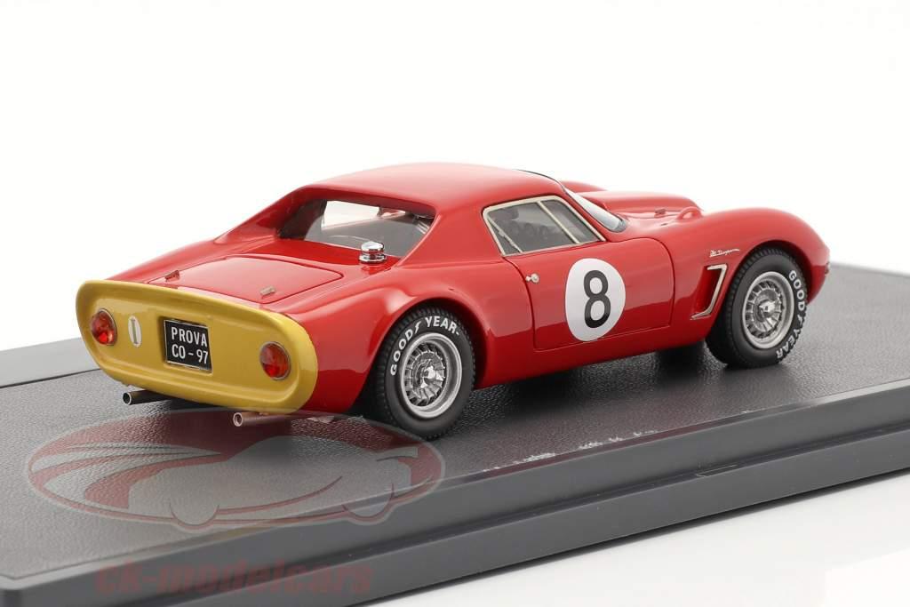 Iso Daytona 6000 GT Prototipo #8 Anno 1965 rosso 1:43 Matrix
