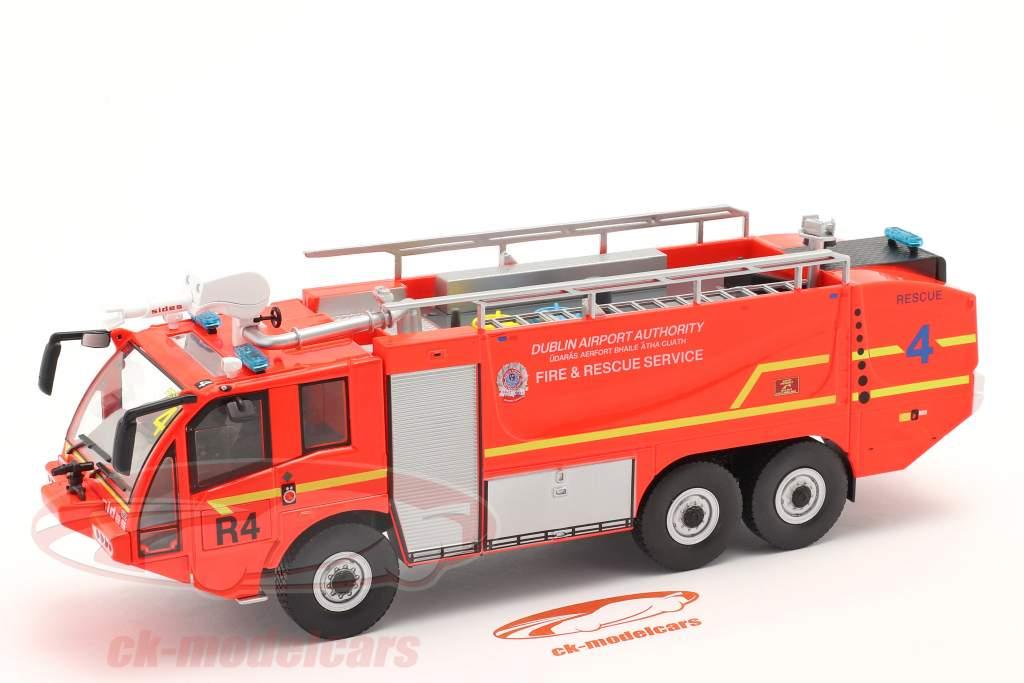 Sides S3X Brandvæsen Brandbil Lufthavn Dublin 2012 rød 1:43 Altaya