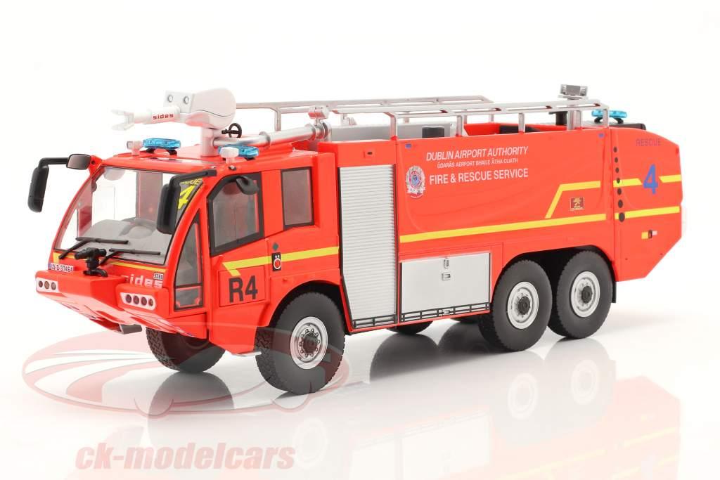 Sides S3X 消防局 消防车 飞机场 Dublin 2012 红色的 1:43 Altaya