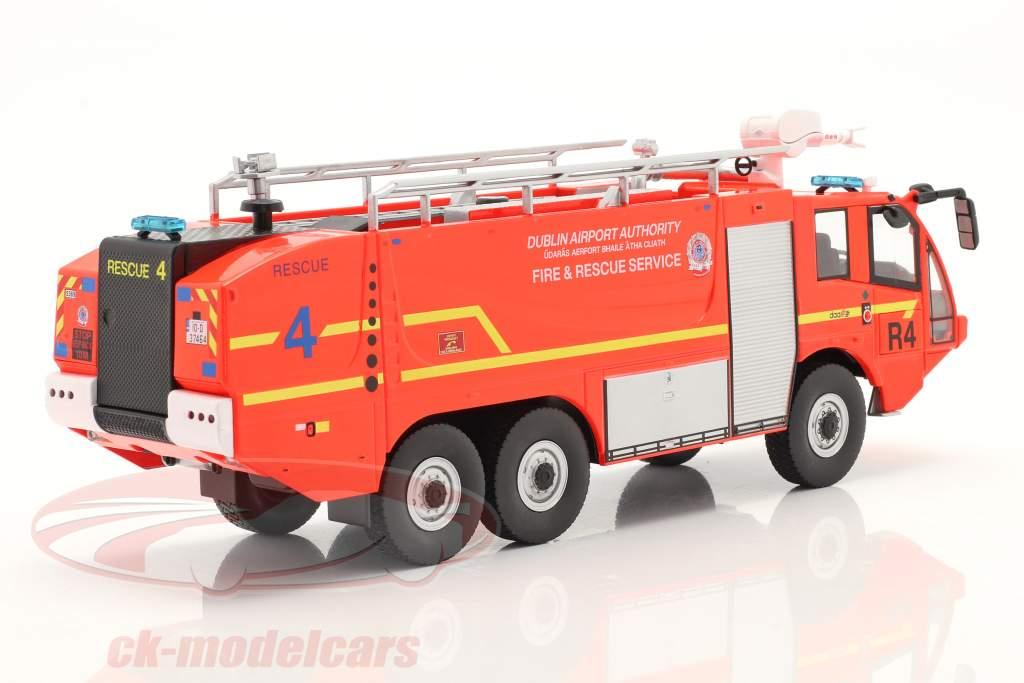Sides S3X cuerpo de Bomberos Camión de bomberos Aeropuerto Dublin 2012 rojo 1:43 Altaya