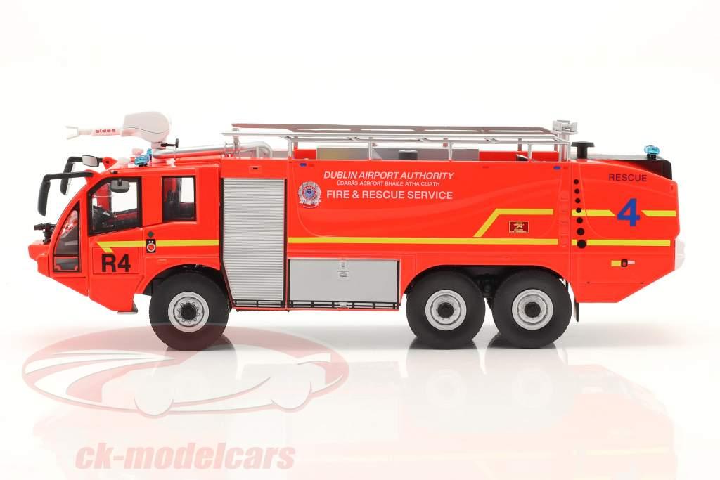 Sides S3X Fire department Fire truck Airport Dublin 2012 red 1:43 Altaya