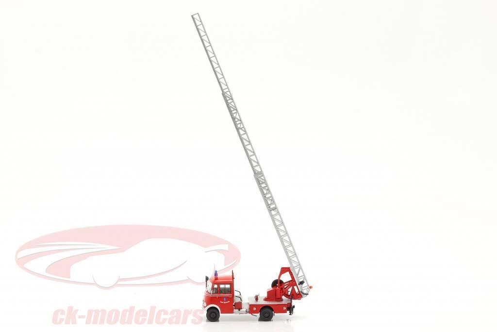 Mercedes-Benz L319 pompiers Walsrode Avec Échelle tournante rouge 1:43 Altaya