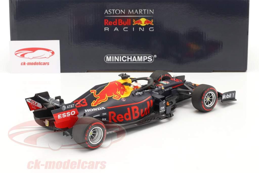 M. Verstappen Red Bull RB15 #33 Winnaar Duitse GP formule 1 2019 1:18 Minichamps