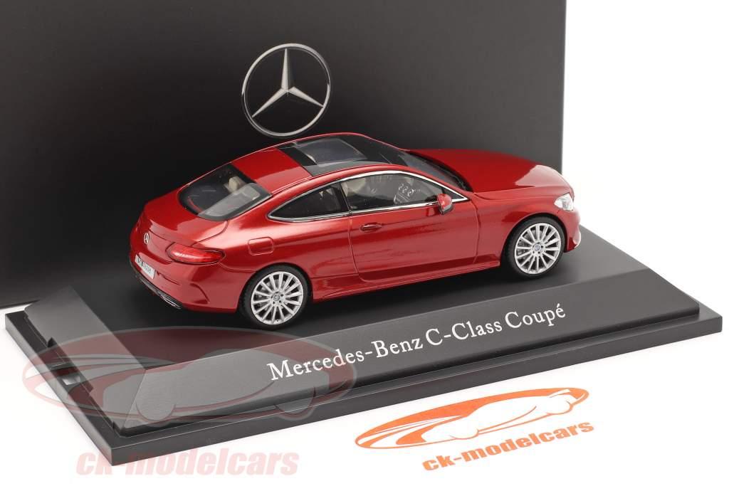 Mercedes-Benz C-Klasse Coupe C205 Hyacinth red 1:43 Kyosho MB