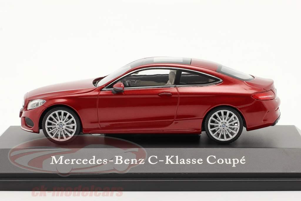 Mercedes-Benz C-Klasse Coupe C205 hyazinth rot 1:43 Kyosho MB