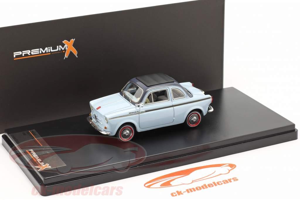 NSU-Fiat Weinsberg 500 Year 1960 blue 1:43 Premium X