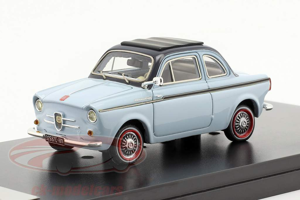 NSU-Fiat Weinsberg 500 Année 1960 bleu 1:43 Premium X