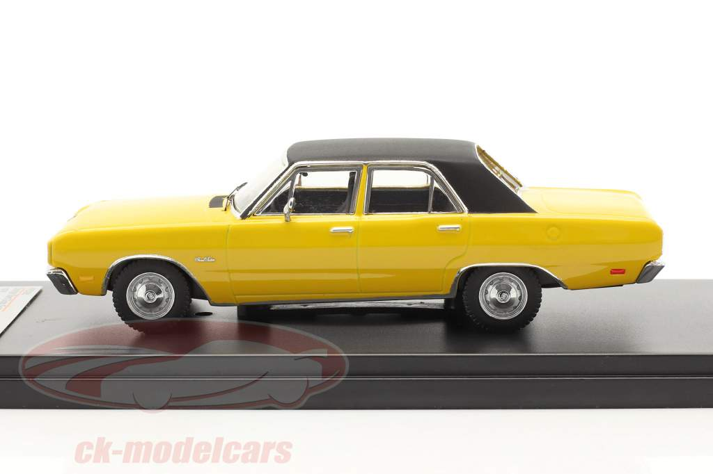Dodge Dart Gran Sedan Ano 1976 amarelo 1:43 Premium X