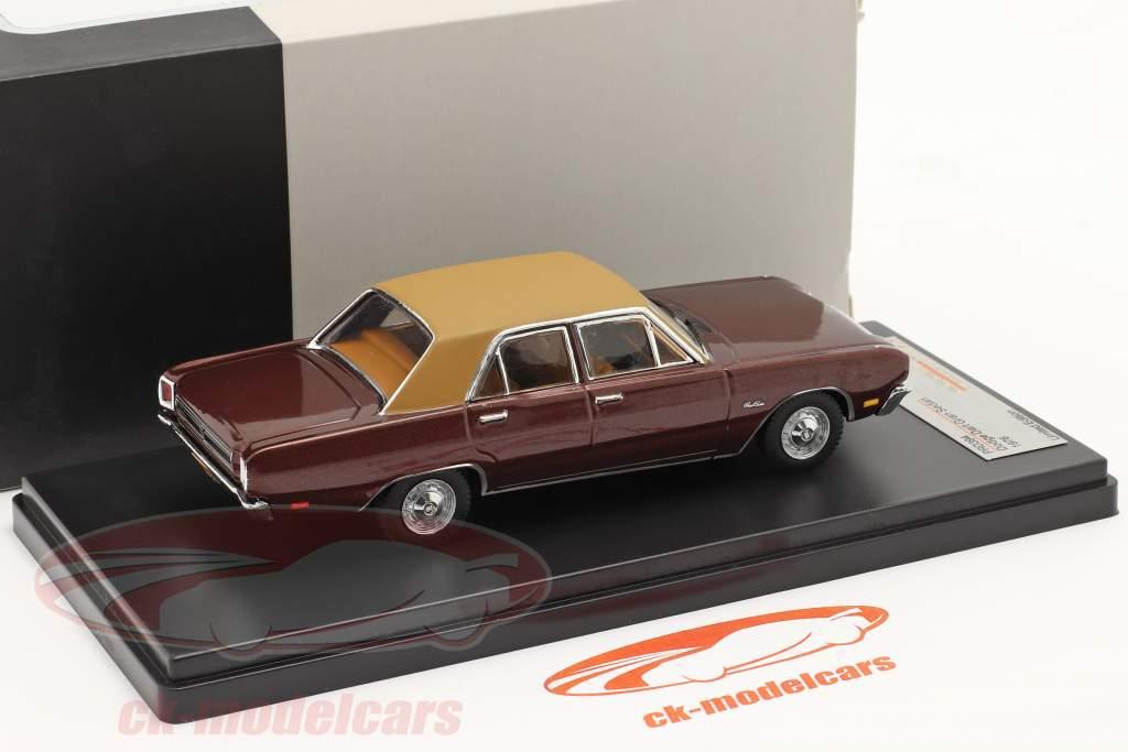 Dodge Dart Gran Sedan Année 1976 brun 1:43 Premium X