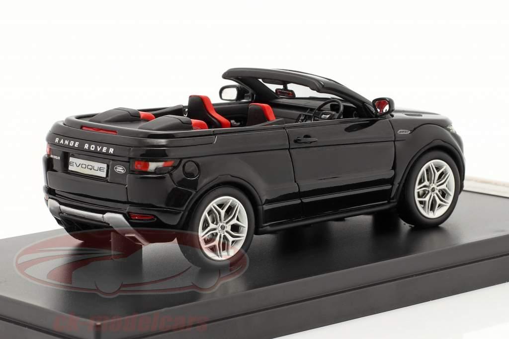 Range Rover Evoque Convertible motor show Geneva 2012 black 1:43 Premium X