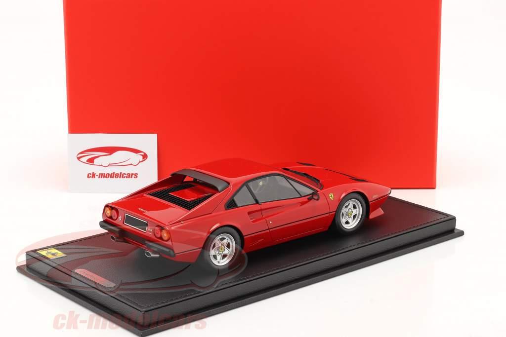 Ferrari 208 GTB Turbo bouwjaar 1982 corsa rood 1:18 BBR