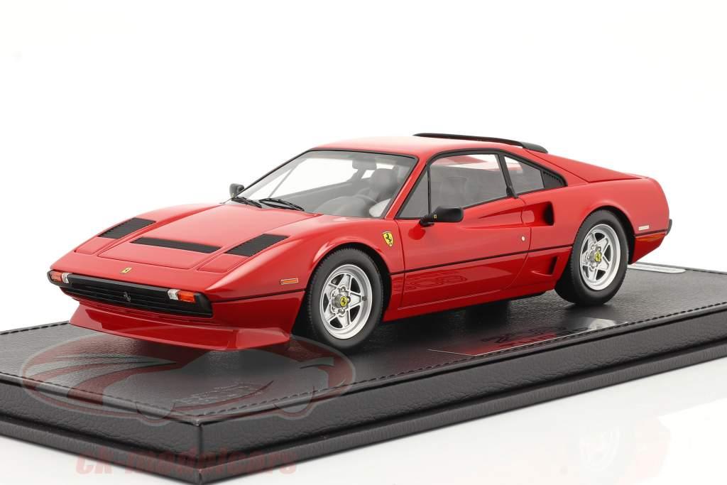 Ferrari 208 GTB Turbo Ano de construção 1982 corsa vermelho 1:18 BBR
