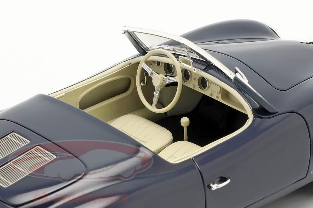 Porsche 356 America Roadster 1952 dunkelblau 1:18 Cult Scale