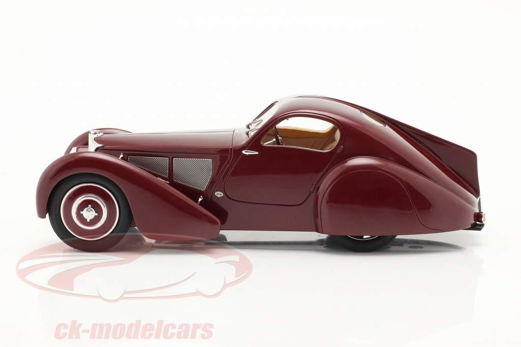 Bugatti Typ 51 Dubois Coupe 1931 rotbraun 1:18 Cult Scale