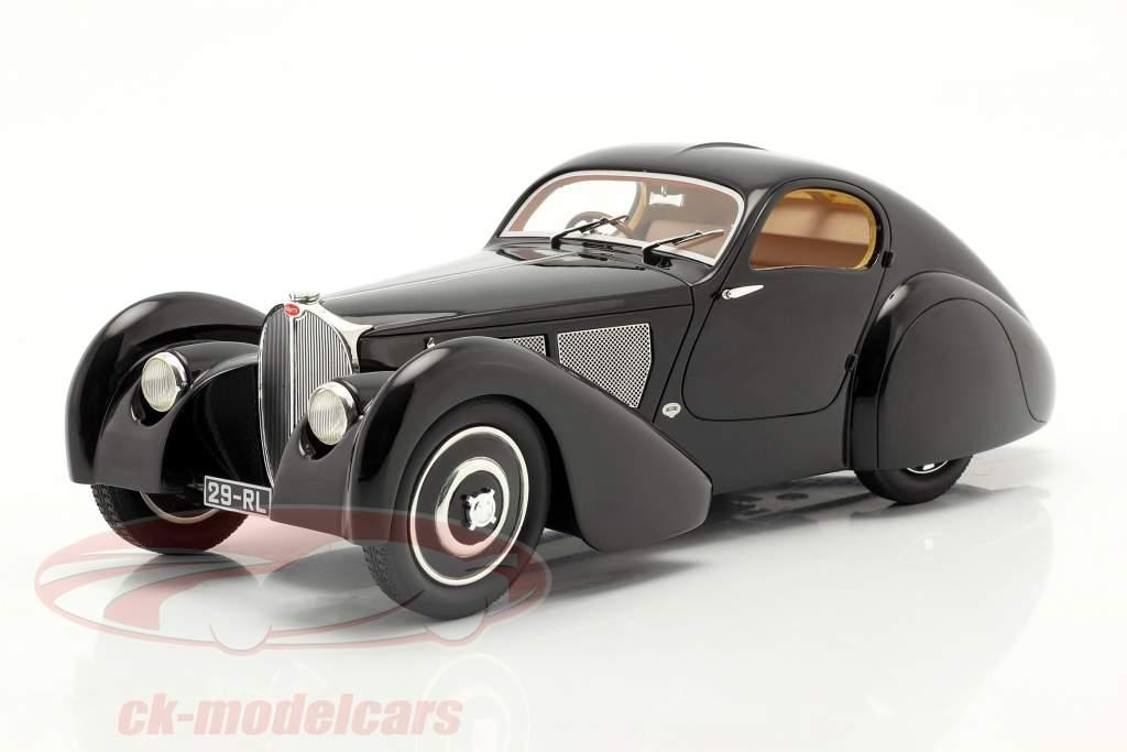 Bugatti Modelo 51 Dubois Coupe 1931 Preto 1:18 Cult Scale