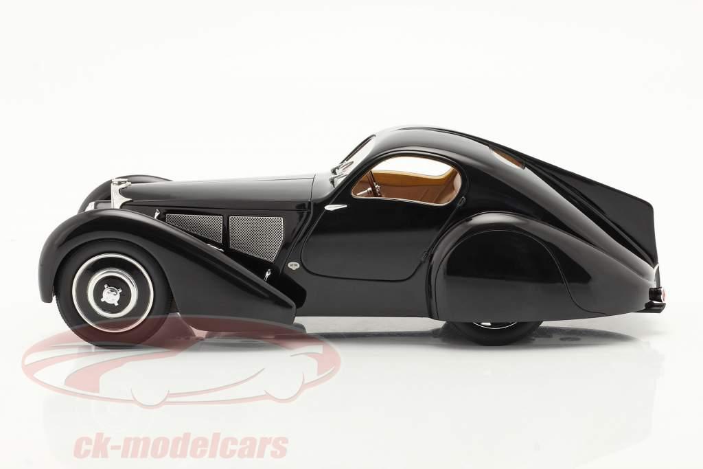 Bugatti Taper 51 Dubois Coupe 1931 noir 1:18 Cult Scale