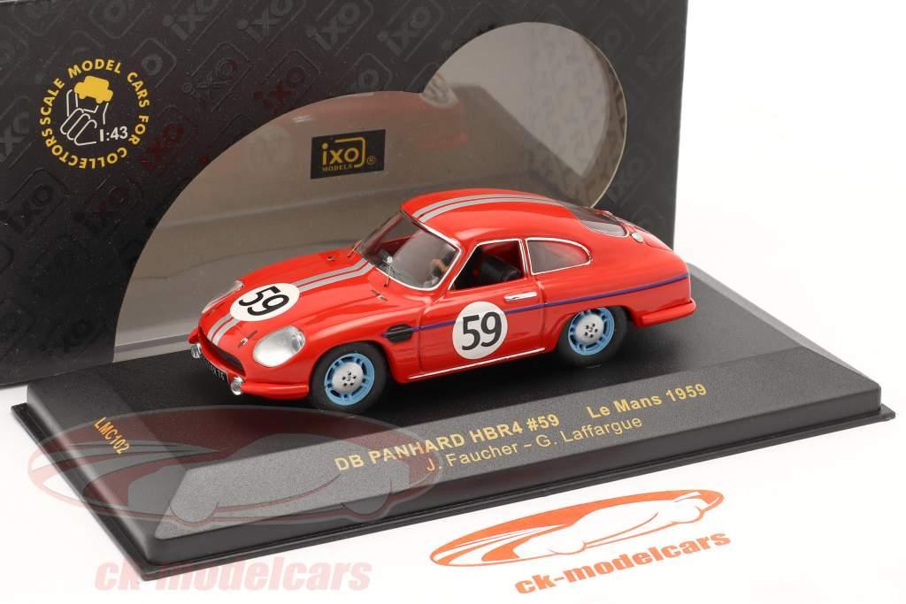 DB Panhard HBR4 #59 24h Le Mans 1959 Faucher / Laffargue 1:43 Ixo