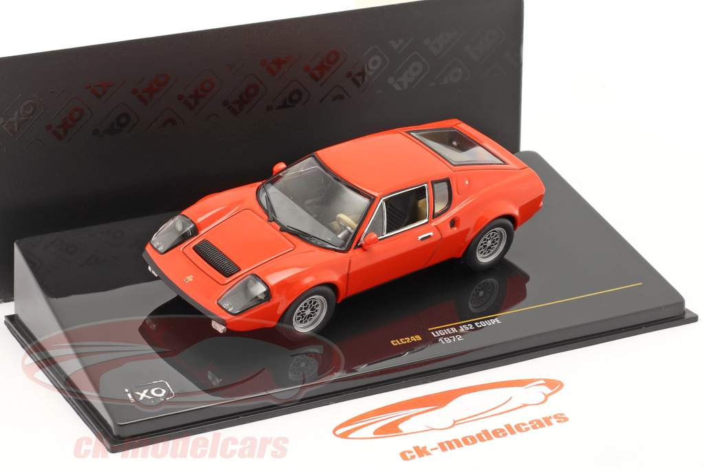 Ligier JS2 Coupe Year 1972 red 1:43 Ixo
