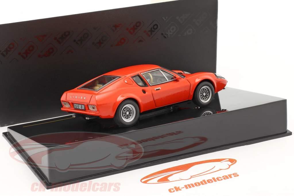 Ligier JS2 Coupe Ano 1972 vermelho 1:43 Ixo