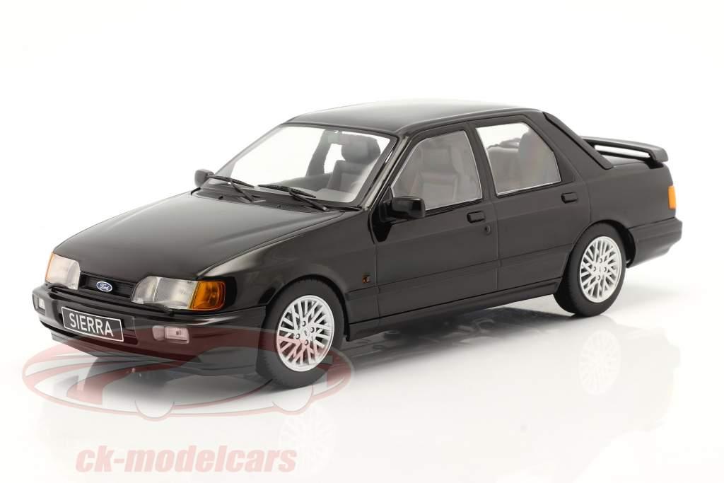 Ford Sierra Cosworth year 1988 black 1:18 Model Car Group