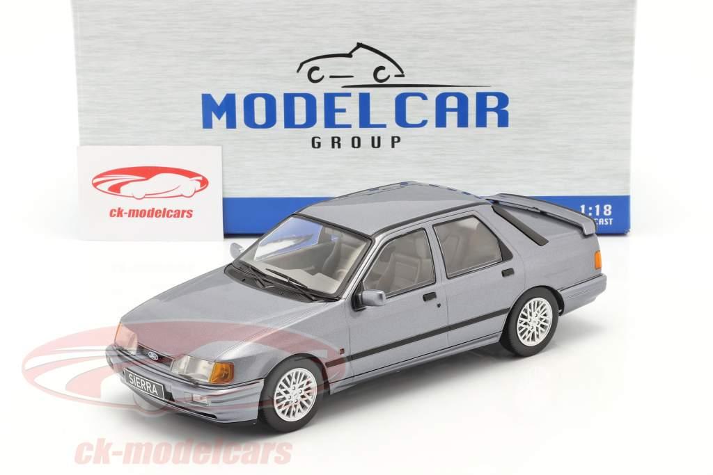 Ford Sierra Cosworth Année de construction 1988 gris-bleu métallique 1:18 Model Car Group