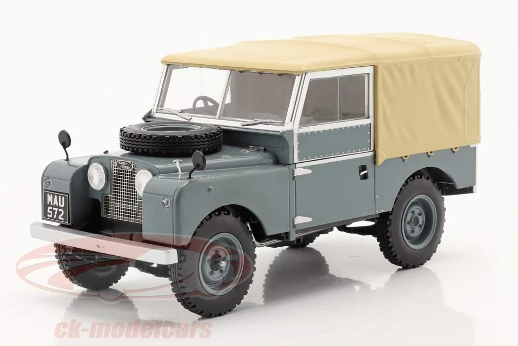 Land Rover Series I RHD year 1957 grey / beige 1:18 Model Car Group