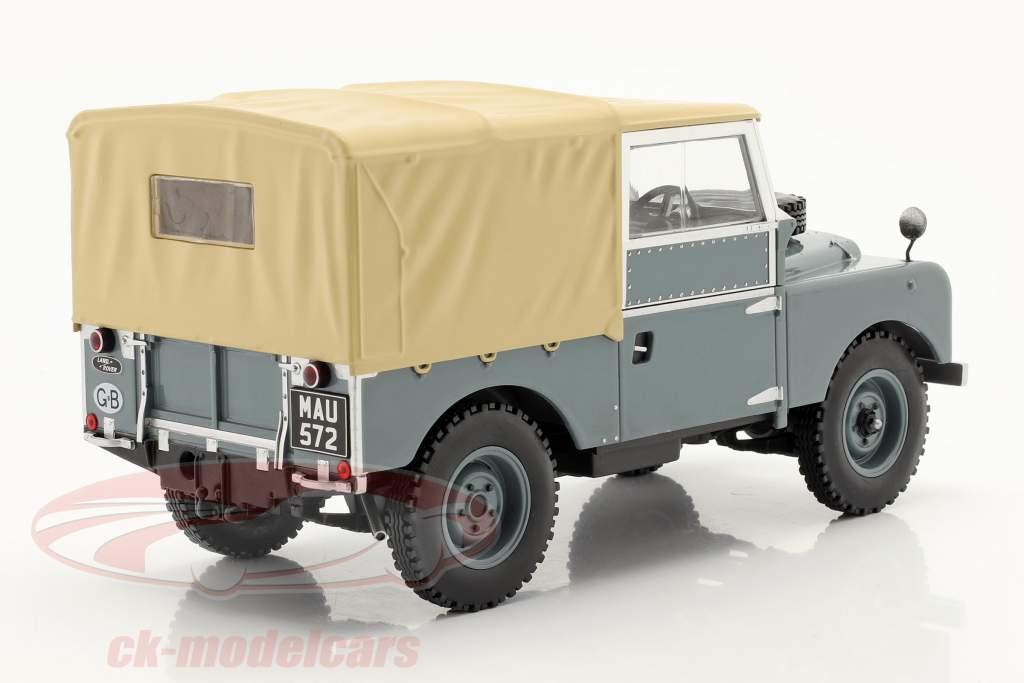 Land Rover Series I RHD Anno di costruzione 1957 Grigio / beige 1:18 Model Car Group