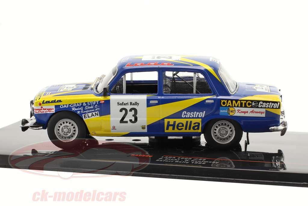 Lada 1600 #23 Safari Rallye 1982 Stohl, Kaufmann 1:43 Ixo