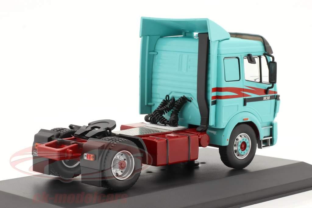 Mercedes-Benz 1838 LS Caminhão Ano de construção 1994 turquesa 1:43 Ixo