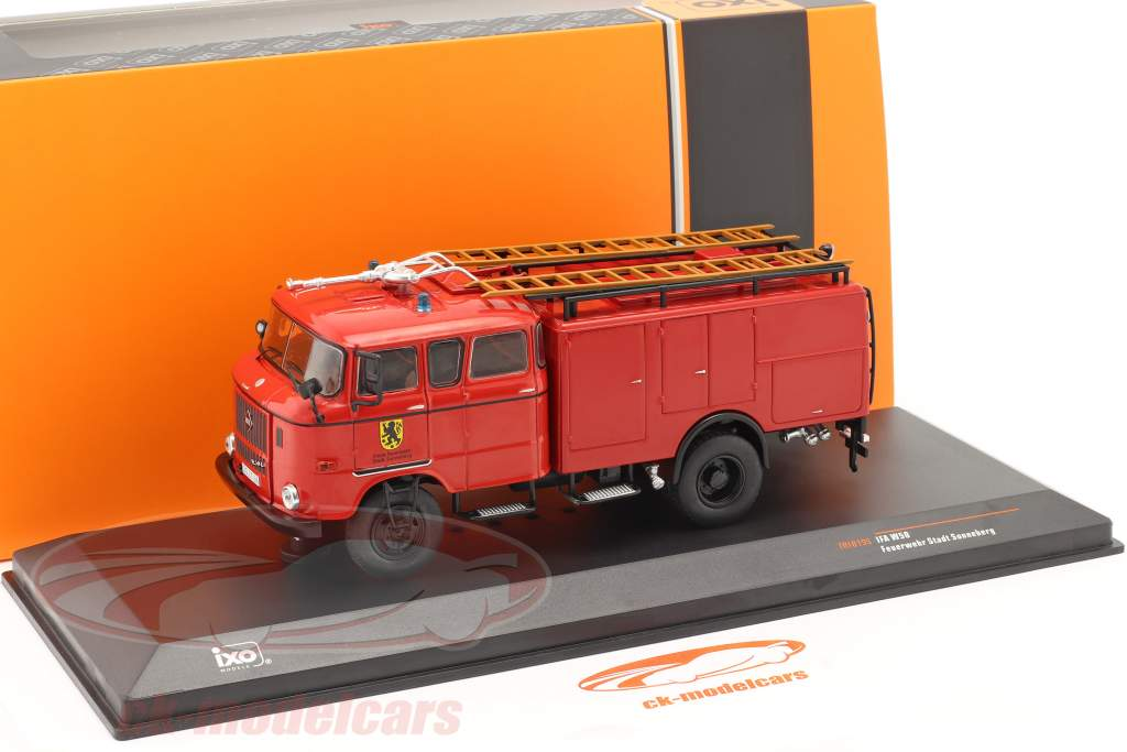 IFA W50 vigili del fuoco Sonnenberg rosso 1:43 Ixo