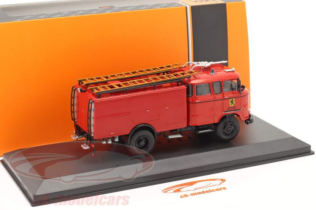IFA W50 fire Department Sonnenberg red 1:43 Ixo