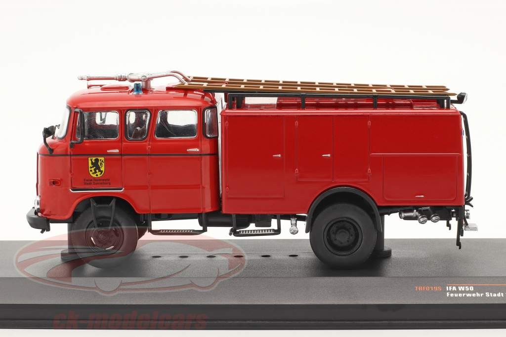 IFA W50 cuerpo de Bomberos Sonnenberg rojo 1:43 Ixo