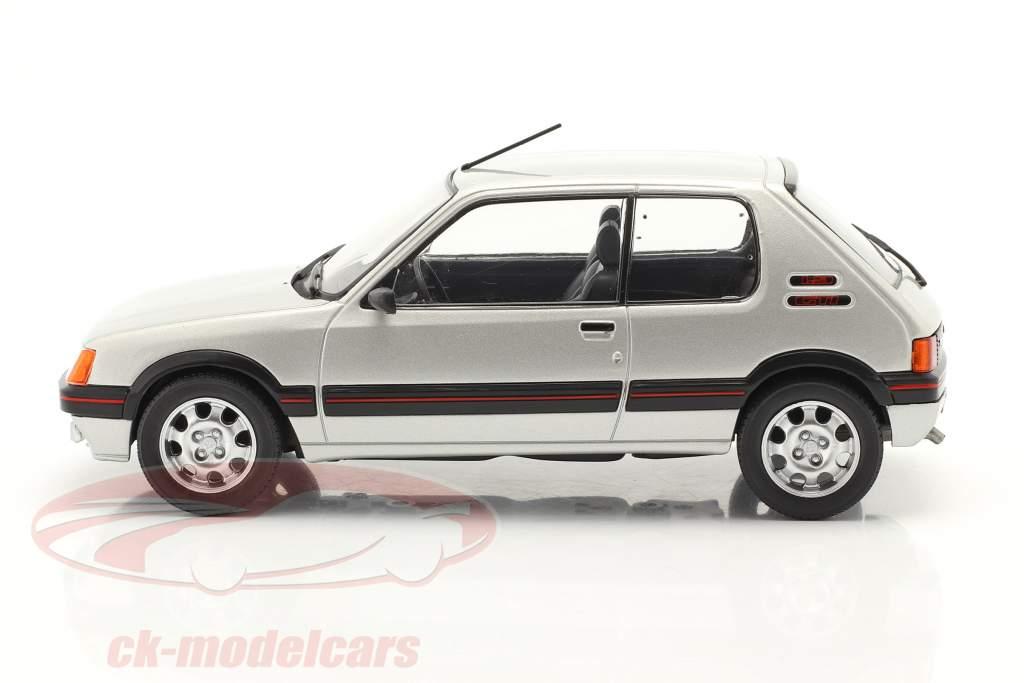 Peugeot 205 1.9 GTI Baujahr 1988 silber 1:24 WhiteBox