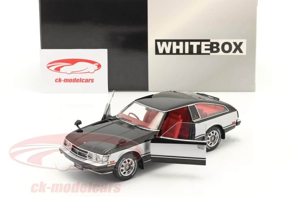 Toyota Celica XX RHD Byggeår 1978 sort / sølv 1:24 WhiteBox