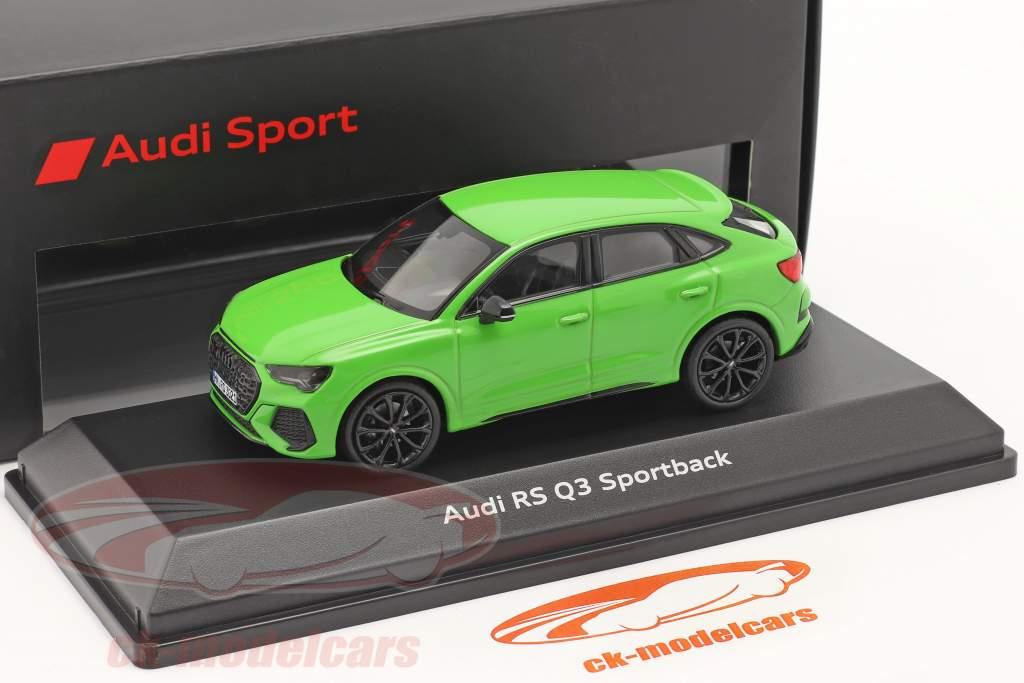 Audi RS Q3 Sportback (F3) 建設年 2019 キャラミグリーン 1:43 Minichamps
