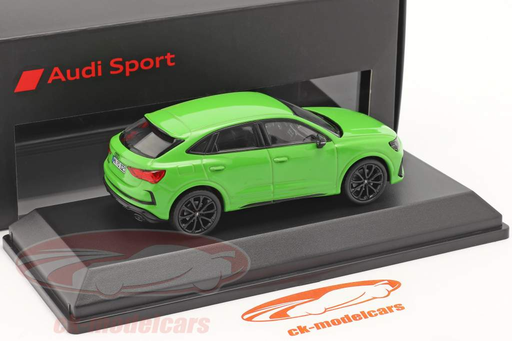 Audi RS Q3 Sportback (F3) Baujahr 2019 kyalamigrün 1:43 Minichamps