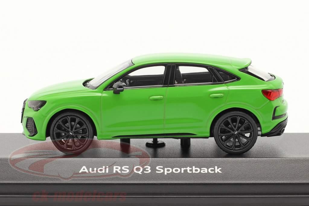 Audi RS Q3 Sportback (F3) Année de construction 2019 vert kyalami 1:43 Minichamps