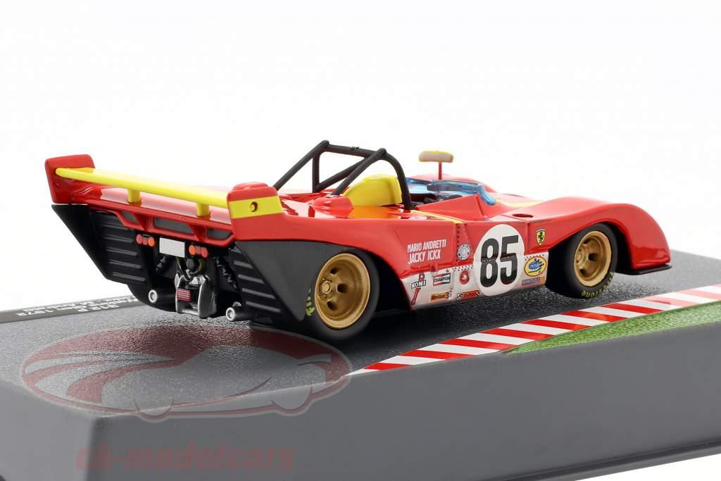 Ferrari 312 PB #85 Vencedora 6h Watkins Glen 1972 Andretti, Ickx 1:43 Altaya