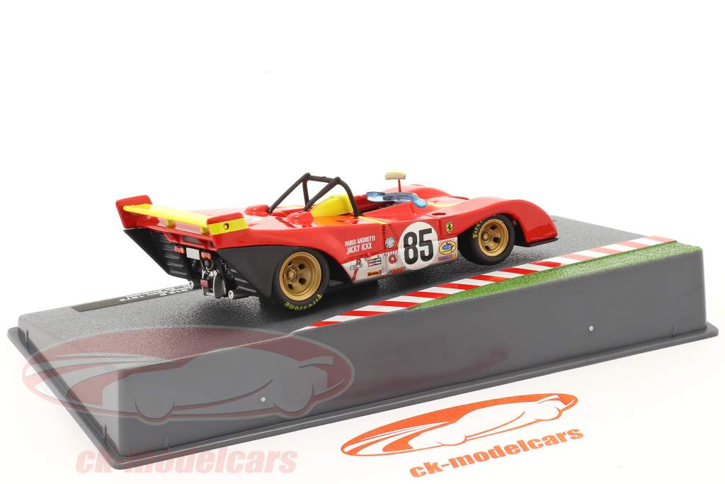 Ferrari 312 PB #85 Winnaar 6h Watkins Glen 1972 Andretti, Ickx 1:43 Altaya