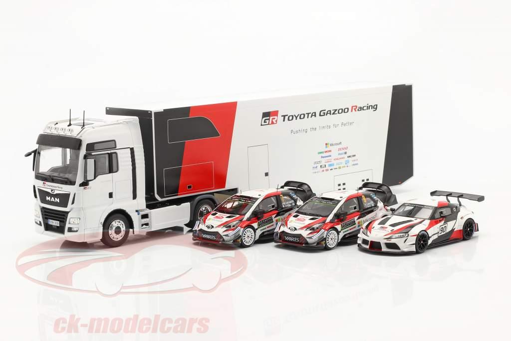 MAN TGX XXL D38 2019 WRC Rallye Transport Toyota Gazoo Racing 1:43 Ixo