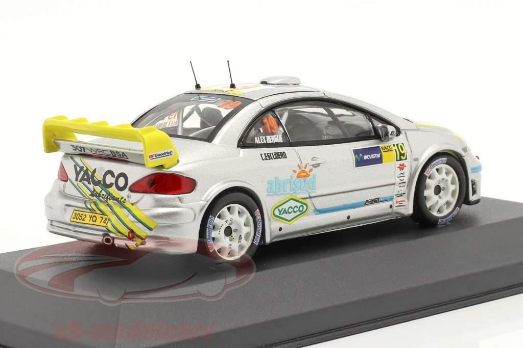 Peugeot 307 WRC 19 ° Rally RACC Catalunya 2006 1:43 Ixo
