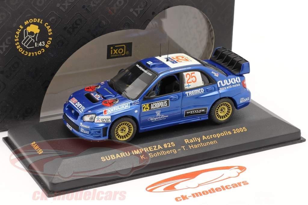 Subaru Impreza º 25 Rali da Acrópole 2005 1:43 Ixo