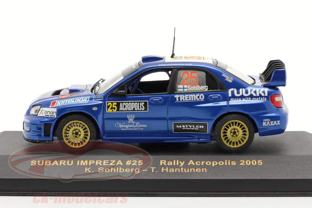 Subaru Impreza #25 Rallye Acropolis 2005 1:43 Ixo