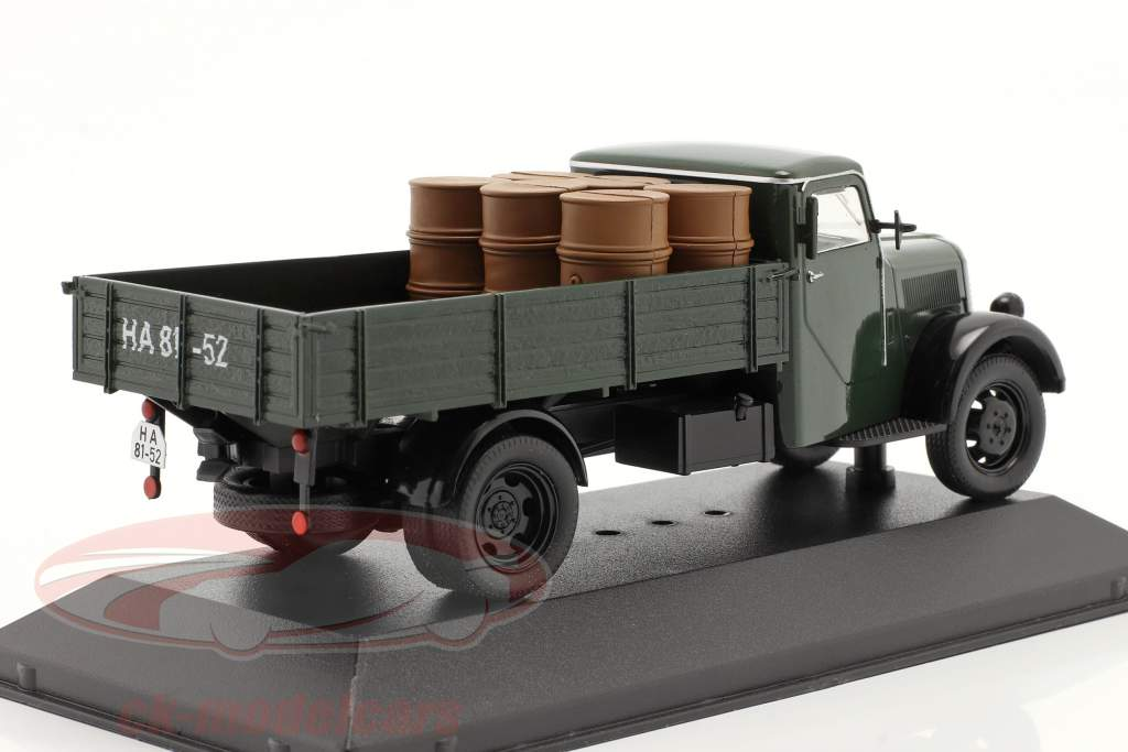 Phänomen Granit 27 avec charge année 1950 vert foncé 1:43 Ixo