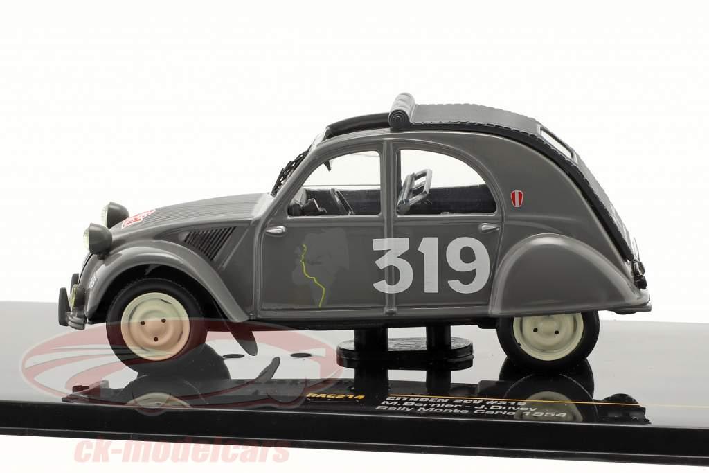 Citroen 2CV #319 M. Bernier, J. Duvey Rally di Monte Carlo 1954 1:43 Ixo