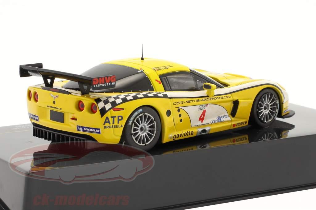 Corvette C6-R #4 winnaar FIA GT Paul Ricard 2006 1:43 Ixo