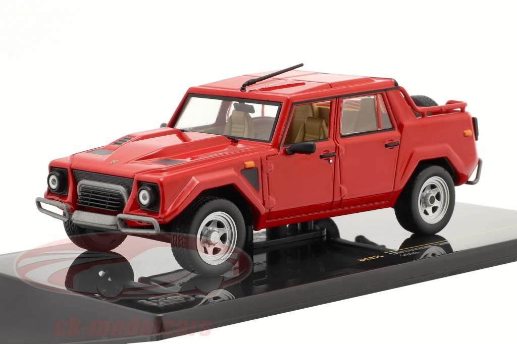 Lamborghini LM002 année 1986 rouge 1:43 Ixo