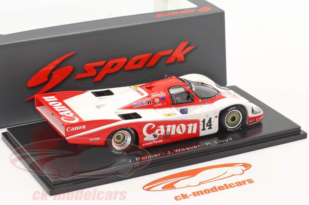 Porsche 956 #14 2nd 24h LeMans 1985 Palmer, Weaver, Lloyd 1:43 Spark