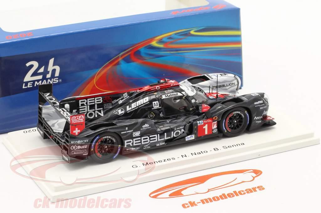 Rebellion R13 #1 2nd 24h LeMans 2020 Menezes, Nato, Senna 1:43 Spark